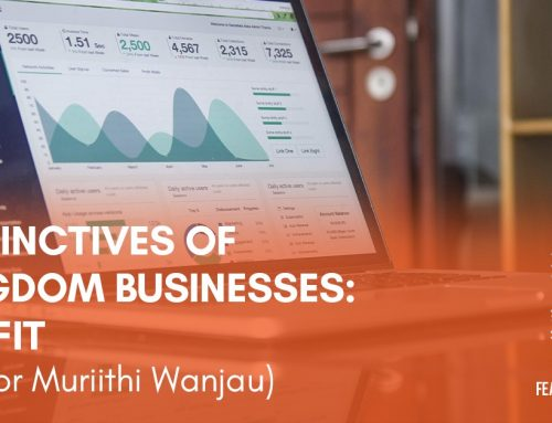Distinctives of Kingdom Businesses: Profit