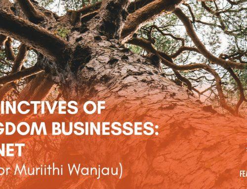 Distinctives of Kingdom Businesses: Planet
