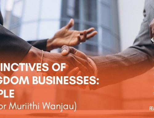 Distinctives of Kingdom Businesses: People